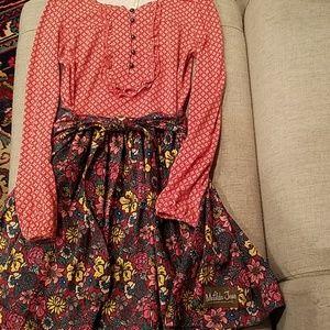 Like New Matilda Jane Tatiana Dress Size 8